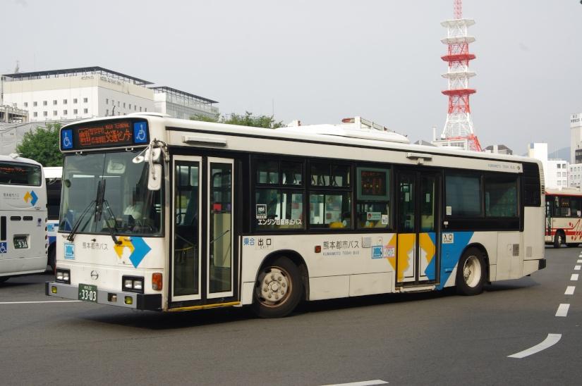 [熊本都市バス]熊本22か33-03