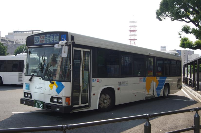 [熊本都市バス]熊本200か11-55