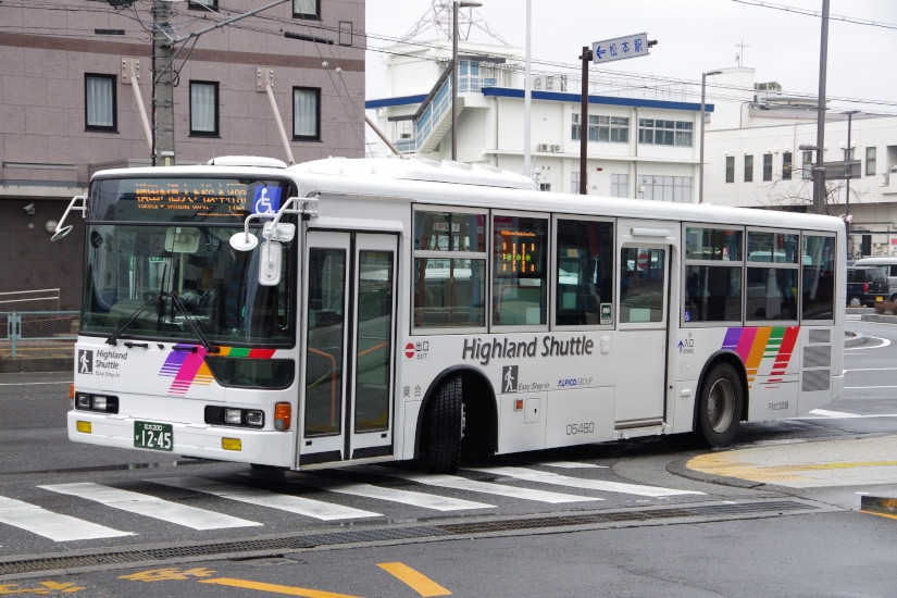 [アルピコ交通]松本200か12-45