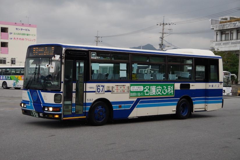 [沖縄バス]沖縄200か・592