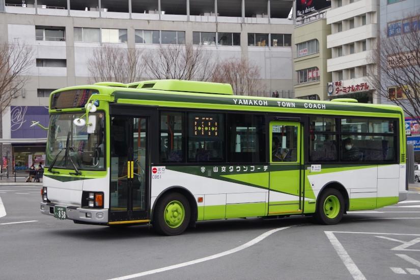 [山梨交通]山梨200か・858
