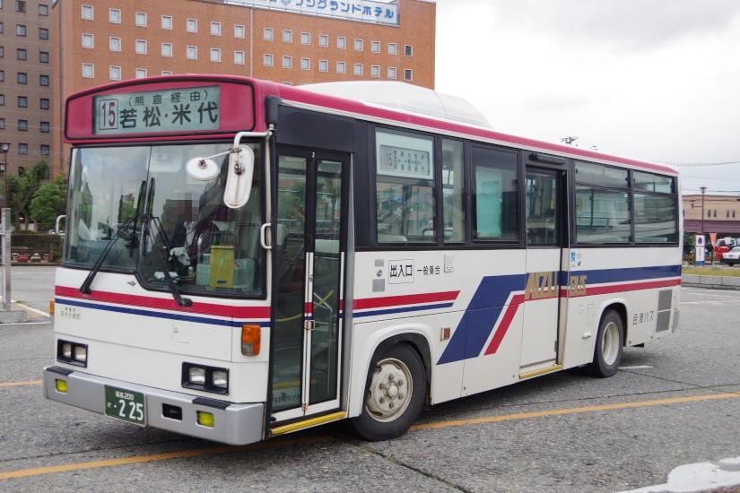 [会津乗合自動車]福島200か・225