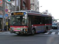 E950フロント 大森駅にて